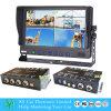4 Systeem x-y-7027 van de Camera van de Auto DVR van het Voertuig van het kanaal
