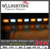 42  bernsteinfarbig/weißes LED-Pfeil-Stock-Licht