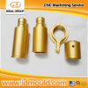 CNC Turning Parte dell'alluminio con Gold Anodizing