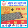 Électrodes de soudure de pont de pierre d'approvisionnement d'usine E6013. Baguette de soudage héros E6013