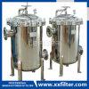 Edelstahl-Beutelfilter-Gehäuse für industrielle Wasser-Filtration