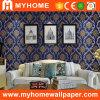 La decoración interior de PVC lavable con papel tapiz de flores