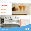 Bianco/Black /Red/Beige Quartz Stone per Kitchen Countertop