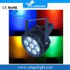 Luz impermeable de la IGUALDAD de IP65 7*15W RGBWA LED de China