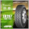 todo el terreno 11r22.5 pone un neumático semi neumático de los neumáticos del carro el nuevo con término de garantía