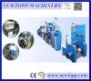 Chaîne de production de l'extrusion Xj-30+25 pour le câble de fil de Mousse-Peau de PE
