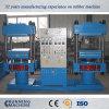 máquina de vulcanización de la prensa de la placa solar 800t con dos estaciones