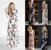 Оптовое красивейшее платье Corloful флористическое макси