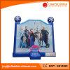 遊園地(T1250)のための凍結する跳躍の城のコンボのスライドの警備員