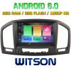 Carro DVD do Android 6.0 do núcleo de Witson oito para as insígnias 2008-2011 de Opel