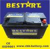Bateria de carro padrão 60038-Mf do automóvel da bateria 100ah 12V do veículo do RUÍDO
