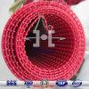 Tejido de poliuretano de alambre de acero inoxidable con revestimiento de malla cuerda