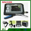 Scanner vétérinaire d'ultrason d'affichage à cristaux liquides Palmtop de couleur d'équipement médical (MSLVU04)
