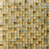 Het goud Gebarsten Mozaïek van het Glas van de Tegel van het Mozaïek (HGM345)