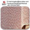 A madeira compensada de venda quente Quente-Pressiona a almofada do coxim da fibra química da almofada do coxim para a máquina de madeira da imprensa hidráulica