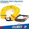 giubbotto di salvataggio gonfiabile del pacchetto della cinghia 110n con il sussidio di galleggiabilità (FTIN-BT01)