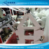 4 Zeilen Plastiktasche, die Maschine herstellt