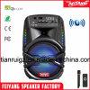 Altavoz Bluetooth recargable baratos con coloridas luces LED de 8 pulg.