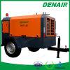 Dos o compresor de aire remolcable móvil portable diesel de cuatro ruedas