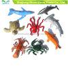 a vida marinha da mini criatura do oceano do animal de mar 8PCS figura brinquedos dos modelos