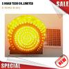 300mm黄色いLEDの点滅の太陽トラフィックの警報灯