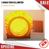 Indicatore luminoso solare del segnale stradale del diametro 300mm LED