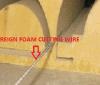 Fabrik-Zubehör-schneller Draht-abschleifender Draht-Schnitt-Draht für CNC-Schaumgummi-Form-Scherblock