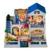 子供の最もよいギフトのための教育おもちゃが付いている卸し売りDIYの木の人形の家