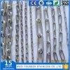 SS304 en acier inoxydable ou SS316 Nacm90 torsion de la bobine de la chaîne de liaison