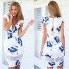 Summerのための偶然のDress Sexy Print Dress