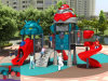 Kaiqi Gruppen-Kind-Lieblingsroboter-Thema-im Freienspielplatz-Gerät (KQ50061A)