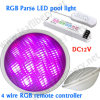 18W LED PAR56 met RF3600 RGB Controller, IP68 Waterproof, DC12V