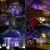 Lumières lasers extérieures, exposition de lumière laser de Noël