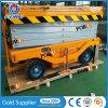 12m Scissor hydraulisches Mobile des Schlussteil-500kg Aufzug für Verkauf