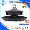 Indicatore luminoso della baia del UFO LED del driver IP65 di Meanwell alto
