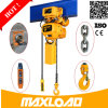 0,5-5 cadena Maxload de carga del polipasto eléctrico / Servicio ligero alzamiento eléctrico