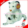 30cm 3D Mother et Son Tiger Plush Toys