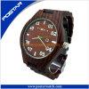 남자와 여자를 위한 품질 보증 목제 시계 우연한 시계