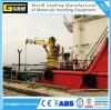 Кран гидровлического телескопичного заграждения морской с ABS, BV, сертификатом CCS