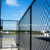 Belüftung-überzogener Sicherheits-Maschendraht-Kettenlink-Ineinander greifen-Flughafen-Zaun