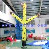 Le danseur gonflable d'air de giraffe/danseur jaune de PVC