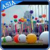 Publicité imprimée de l'hélium ballon gonflable ronde pour l'ouverture d'événements