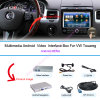 Multimedia des Aufsteigen-Auto-HD androide GPS-Navigation für (10-16) VW 8  Touareg, Bt/WiFi