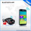 Sustentação Bluetooth APP do perseguidor do carro para transferir o relatório
