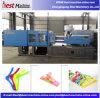 Máquina modificada para requisitos particulares horizontal del moldeo a presión para la percha plástica