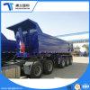 3 Type 40 van U van de as de Kubieke Tippende Aanhangwagen van de Vrachtwagen van de Aanhangwagen van de Stortplaats van de Meter Semi