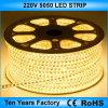 Migliore indicatore luminoso di striscia flessibile di prezzi SMD 5050 220V LED