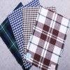 100% de los hilados de algodón teñido de telas Shirting