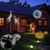 Luzes Switchable removíveis do festival da lâmpada de projeção das películas do diodo emissor de luz da decoração de Halloween do Natal 12 com alta qualidade