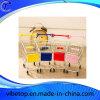 Mini carro de la carretilla del supermercado con la función del sostenedor del teléfono móvil